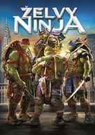 Teenage Mutant Ninja Turtles - Czech DVD movie cover (xs thumbnail)