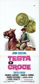 Testa o croce - Italian Movie Poster (xs thumbnail)