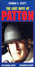 The Last Days of Patton - VHS cover (xs thumbnail)