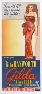 Gilda - Australian Movie Poster (xs thumbnail)