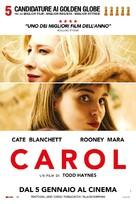 Carol - Italian Movie Poster (xs thumbnail)