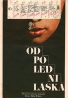 Love in the Afternoon - Czech Movie Poster (xs thumbnail)