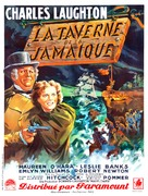 Jamaica Inn - French Movie Poster (xs thumbnail)