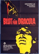 Dracula: Prince of Darkness - German Movie Poster (xs thumbnail)