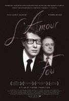 Yves Saint Laurent - L'amour fou - Movie Poster (xs thumbnail)