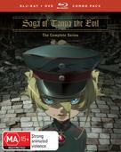 Saga of Tanya the Evil Movie - Australian Blu-Ray movie cover (xs thumbnail)