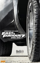 Furious 7 - Australian Movie Poster (xs thumbnail)