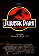 Jurassic Park - Swedish Movie Poster (xs thumbnail)
