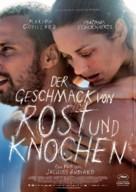 De rouille et d'os - German Movie Poster (xs thumbnail)