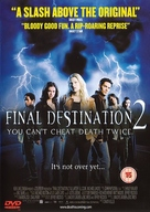 Final Destination 2 - British DVD movie cover (xs thumbnail)