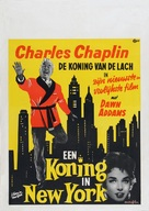 A King in New York - Dutch Movie Poster (xs thumbnail)