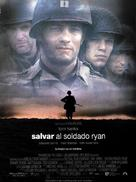 Saving Private Ryan - Spanish Movie Poster (xs thumbnail)