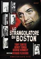 The Boston Strangler - Italian DVD movie cover (xs thumbnail)