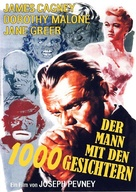 Man of a Thousand Faces - German DVD movie cover (xs thumbnail)