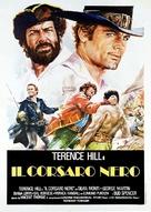 Il corsaro nero - Italian Movie Poster (xs thumbnail)