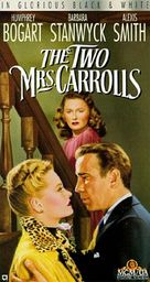 The Two Mrs. Carrolls - VHS cover (xs thumbnail)
