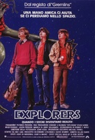 Explorers - Italian Theatrical movie poster (xs thumbnail)