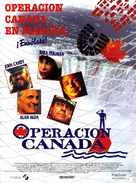 Canadian Bacon - Spanish Movie Poster (xs thumbnail)