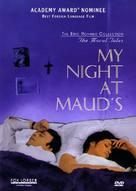 Ma nuit chez Maud - DVD cover (xs thumbnail)