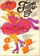 Funny Girl - Hungarian Theatrical movie poster (xs thumbnail)