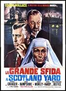 The Trygon Factor - Italian Movie Poster (xs thumbnail)