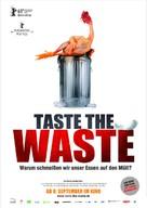 Taste the waste - German Movie Poster (xs thumbnail)