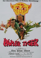 Paper Tiger - German Movie Poster (xs thumbnail)