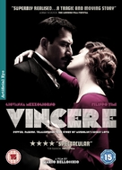 Vincere - British DVD cover (xs thumbnail)