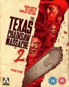 The Texas Chainsaw Massacre 2 - British Blu-Ray movie cover (xs thumbnail)