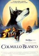 White Fang - Spanish Movie Poster (xs thumbnail)