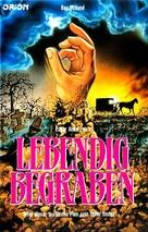 Premature Burial - German VHS cover (xs thumbnail)