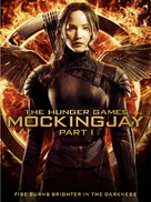 The Hunger Games: Mockingjay - Part 1 - DVD cover (xs thumbnail)