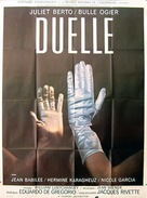 Duelle (une quarantaine) - French Movie Poster (xs thumbnail)