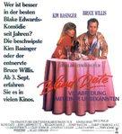 Blind Date - German Movie Poster (xs thumbnail)