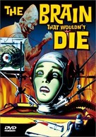 The Brain That Wouldn't Die - DVD cover (xs thumbnail)