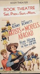 Artists and Models Abroad - Movie Poster (xs thumbnail)
