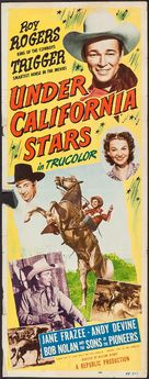 Under California Stars - Movie Poster (xs thumbnail)
