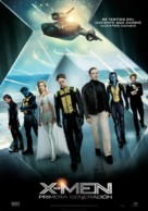 X-Men: First Class - Spanish Movie Poster (xs thumbnail)