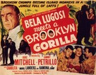Bela Lugosi Meets a Brooklyn Gorilla - Movie Poster (xs thumbnail)