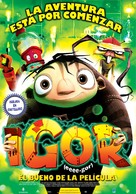 Igor - Argentinian Movie Poster (xs thumbnail)