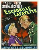 Lafayette Escadrille - Belgian Movie Poster (xs thumbnail)