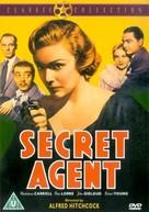 Secret Agent - British DVD cover (xs thumbnail)