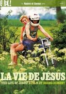 La vie de Jésus - British DVD cover (xs thumbnail)