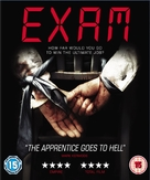 Exam - British Blu-Ray cover (xs thumbnail)