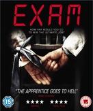 Exam - British Blu-Ray movie cover (xs thumbnail)