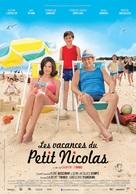 Les vacances du petit Nicolas - French Movie Poster (xs thumbnail)
