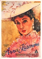 Anna Karenina - German Movie Poster (xs thumbnail)