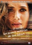 Eu Receberia as Piores Notícias dos seus Lindos Lábios - Spanish Movie Poster (xs thumbnail)