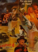 A Nightmare on Elm Street 4: The Dream Master - Pakistani Movie Poster (xs thumbnail)