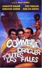 Comment draguer toutes les filles... - French VHS cover (xs thumbnail)